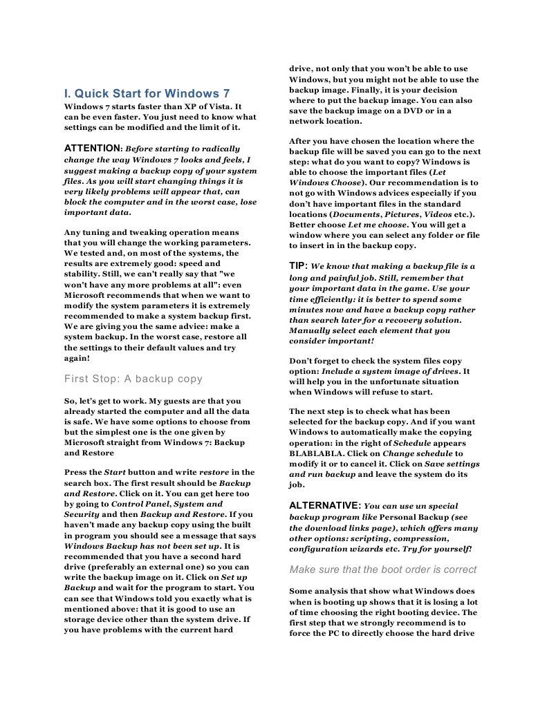 Windows 7 Book | Microsoft Windows | Computer Architecture