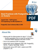 Pgsol Best Practices