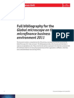 2011 Global Microscope - Bibliography