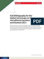 2011 Global Microscope - Bibliography