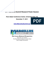 2011 Marcellus Summit Posters