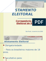 to Eleitoral - 1ª Parte