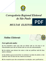 Multas Eleitorais