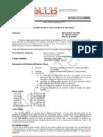 Protocolo de Mediciones de Pozos a Tierra de Edificio Golf Los Incas 26-10-2011