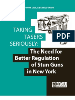 NYCLU Report on Tasers