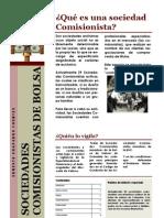SOCIEDADES COMISIONISTAS DE BOLSA