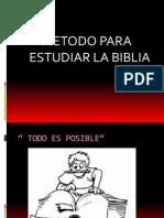 Método EStudio Biblico II