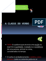 A Classe Do Verbo
