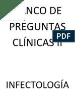 BANCO DE PREGUNTAS CLÍNICAS II