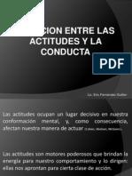 3.1 Relacion Entre Las Actitudes y La Conducta