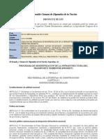 Proyecto de Ley Promitt (Programa de Modernización de la Infraestructura de Transporte Terrestre)