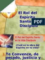 El Rol del Espíritu Santo en el Discípulo