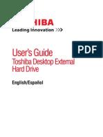 User Guide Ext Toshiba External Hd