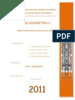 Tarea de Analisis Historico de la Inversión en el Perú
