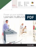 Lexmark X540 Series Brochure
