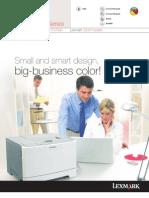 LexmarkC544n Product Brochure