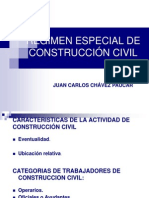 Regimen Especial Construccion Civil