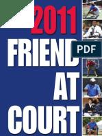 2011 Friend at Court Book