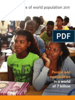 State of the World population 2011 Final UNPF