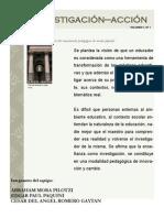 Publicación folleto