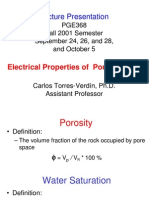 Electrical Petrophysics