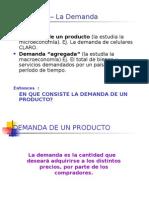 Diapositivas Sobre Demanda
