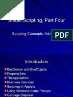 Siebel Scripting 4
