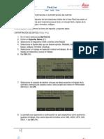Importacion y Exportacion de Datos a FlexLine