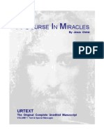 Acim - A Course in Miracles - Urtext
