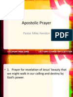 Apostolic Prayer