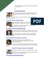 alcaldes de bolivia
