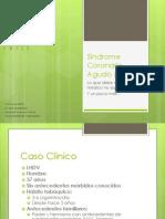 Síndrome Coronario Agudo (SCA)