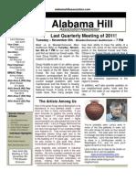 24 Oct 11 Newsletter