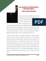 Le vaudou haïtien est-il une religion?  par Leslie Pétigny  - Octobre  2011