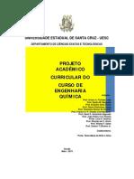 Projeto Pedagógico - Eng. Quím - UESC