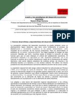 El Sector Agropecuario y Los Paradigm As Del Desarrollo Economico Mexicano