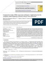 Comparative study of ROC regression techniques—Applications for the computer-aided diagnostic system in breast cancer detection