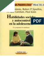 Arnold Goldstein - des Sociales y Auto Control en Adolescencia