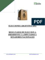 Informe Post Elecciones 2011