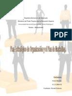 Plan Estrategico de Organizacion y Plan de Marketing Unidad 2