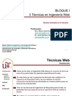 03-Técnicas para requisitos Web