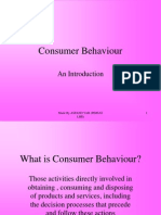 Into Duct Ion to Consumer Behaviour by Asfand