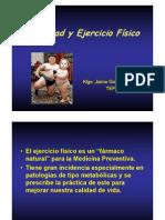 Obesidad y Ejercicio Fisico