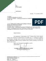 Notificação e inicial do dissidio Coletivo C.S 2011