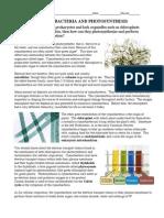 CyanobacteriaReading
