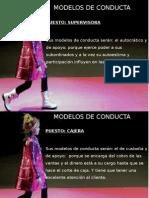 MODELOS DE CONDUCTA