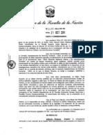 Resolución del ministerio público sobre reapertura de caso de esterilizaciones forzadas