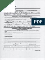 Orly Taitz for Senate FEC Form 21