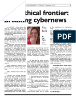 New Ethical Frontier- Breaking Cybernews