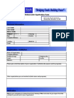 PTE Application Form